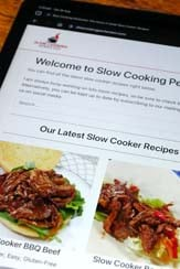 Support Slow Cooking Perfected